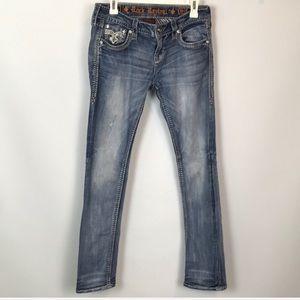 Rock Revival Barbila Straight Jeans Size 28